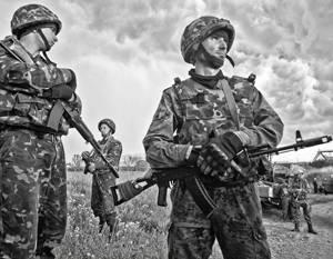 Украинская армия страшна только своей численностью