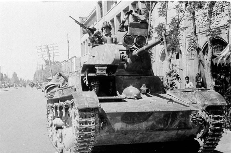 Миф о «захватнической войне» СССР с целью захвата Ирана