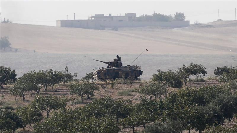 Турция увеличивает масштабы военного вторжения в Сирию