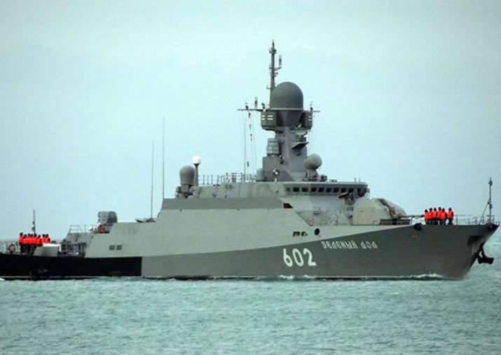 Российские МРК останутся у берегов Сирии до конца сентября