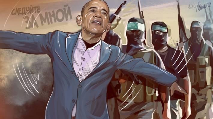 Политика двойных стандартов: террористы бегут из Ирака в Европу на самолете США