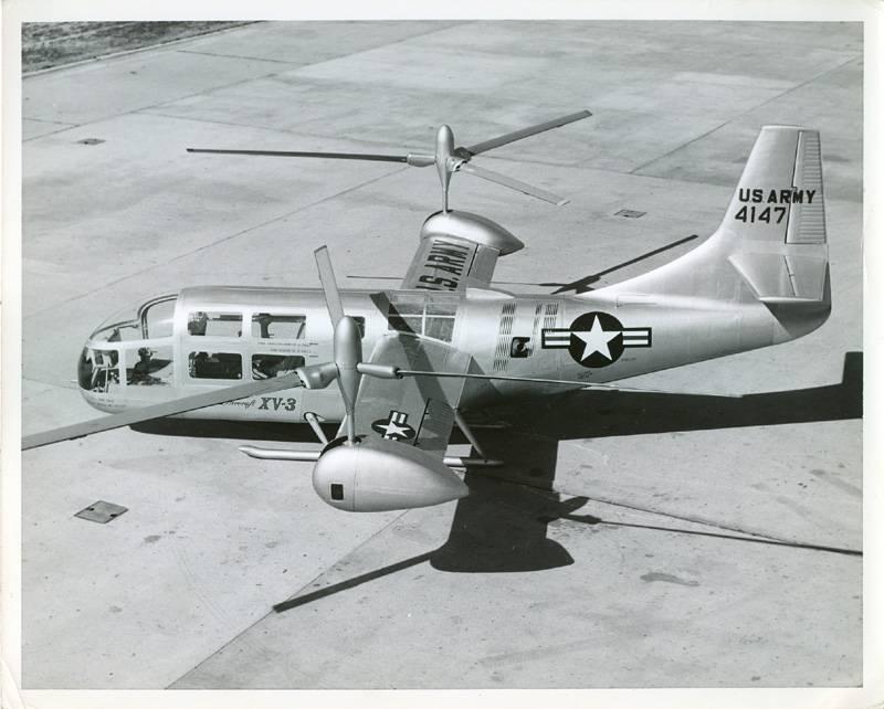 Экспериментальный конвертоплан Bell XV-3