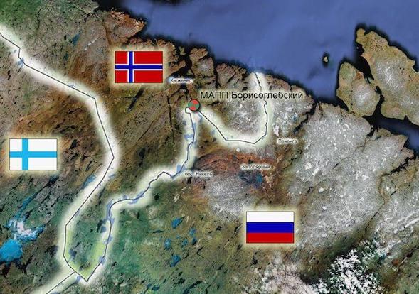 Норвежцы решили построить стену на границе с Россией