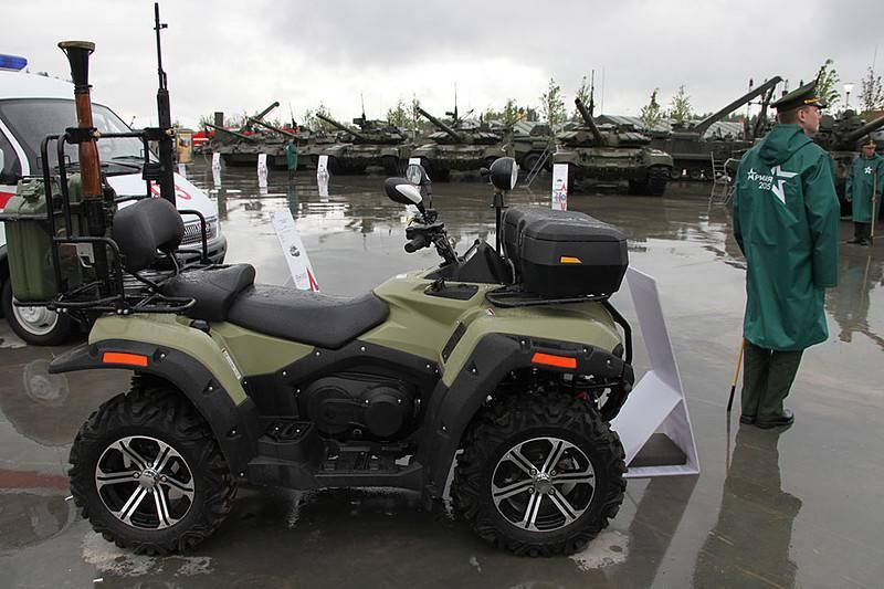 Чукотку будут патрулировать бойцы арктических подразделений на квадроциклах
