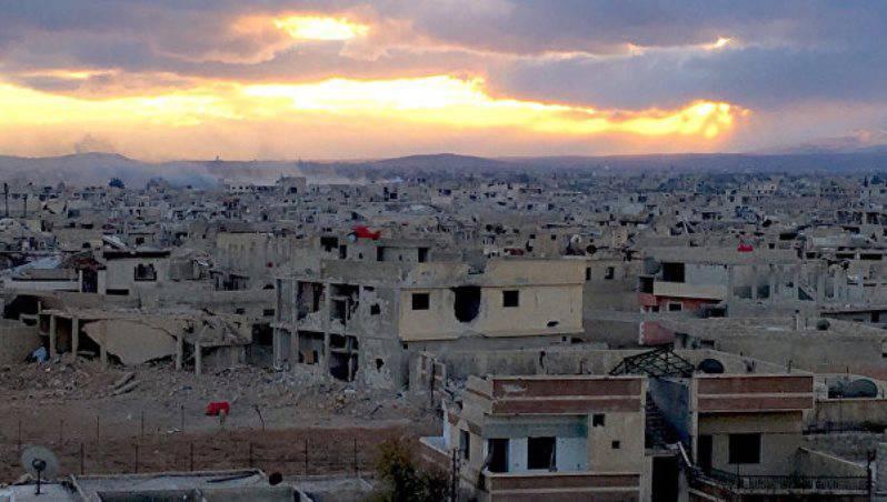 Сирийская армия отбила у террористов пригород Дамаска Дарайю