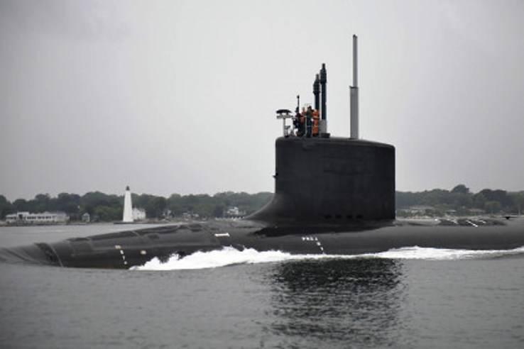 Американский флот получил новую АПЛ
