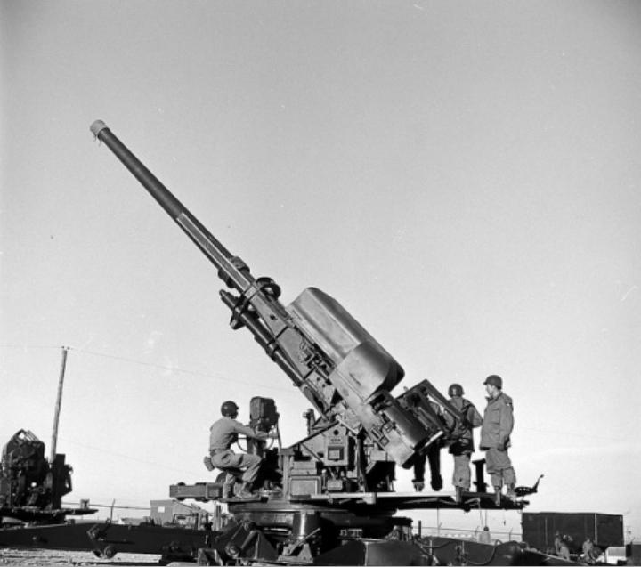 Американская послевоенная зенитная артиллерия. Часть 1-я