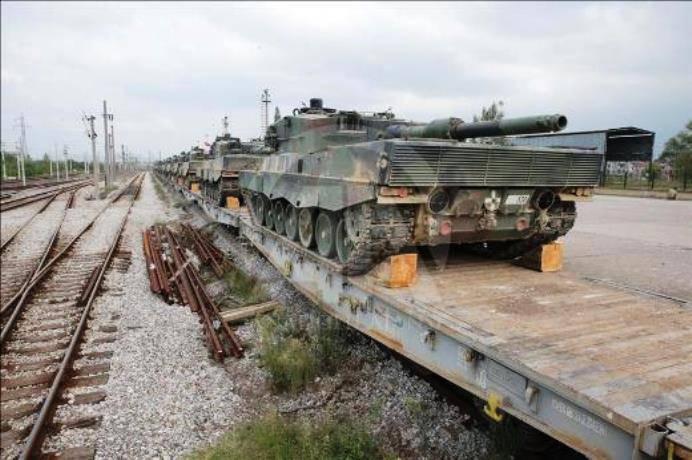 Турция перебрасывает к сирийской границе танки «Леопард-2А4»