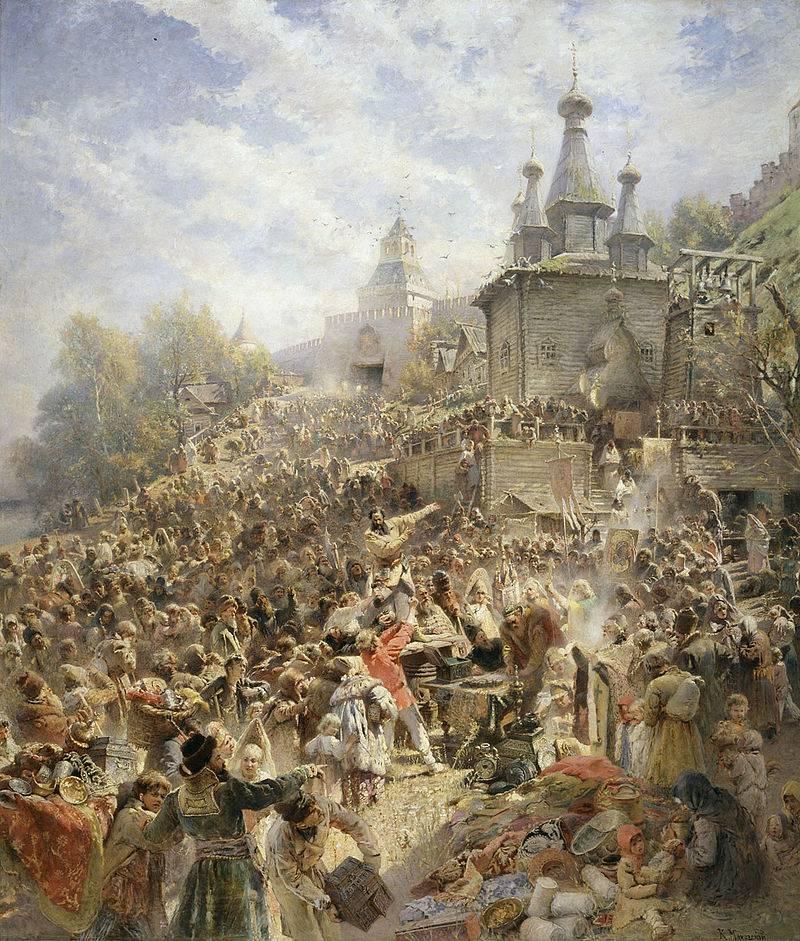 Как Первое народное ополчение пыталось освободить Москву