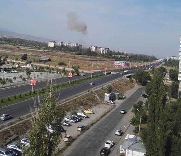 СМИ: Взрыв в посольстве КНР в Бишкеке