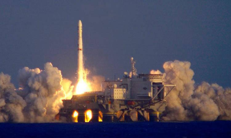 Россия продолжает участвовать в проекте «Морской старт»