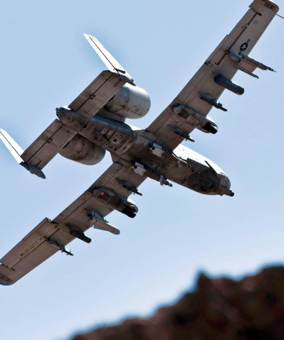 Обои «тандерболт» ii, штурмовик, thunderbolt ii, A-10, Схема. Авиация foto 18