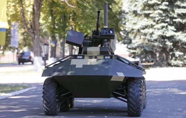Новинка от «Укроборонпрома»: мини-бронеавтомобиль «Фантом»