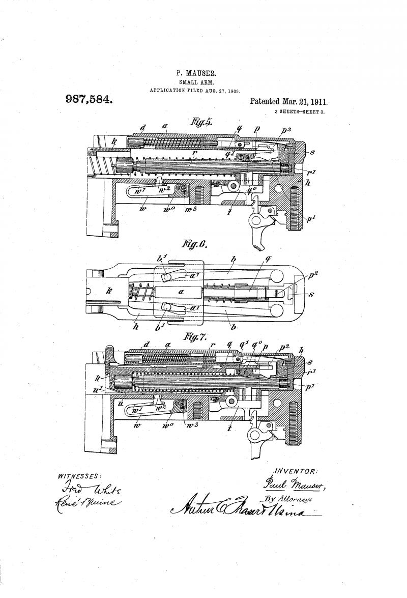 Самозарядная винтовка Mauser Selbstlader M1916