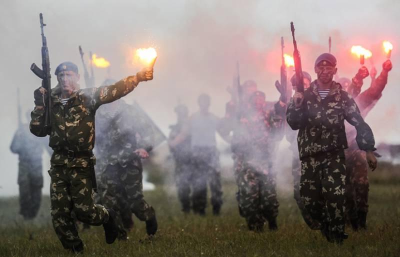 Формирование десантного полка в Крыму начнётся в 2017 г
