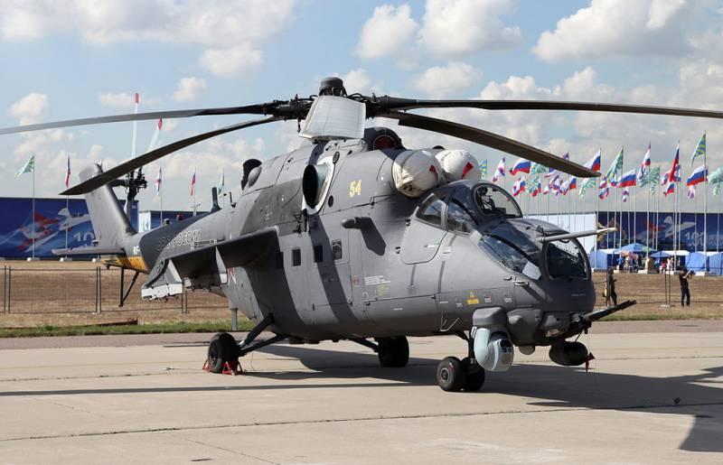 Москва предлагает американцам и их союзникам купить партию Ми -35М для афганской армии