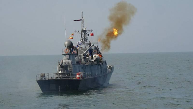 На Каспийском море проведены боевые стрельбы в рамках конкурса «Кубок моря -2016»