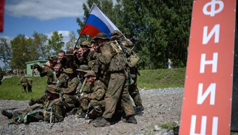 Российская команда победила в конкурсе «Отличники войсковой разведки»