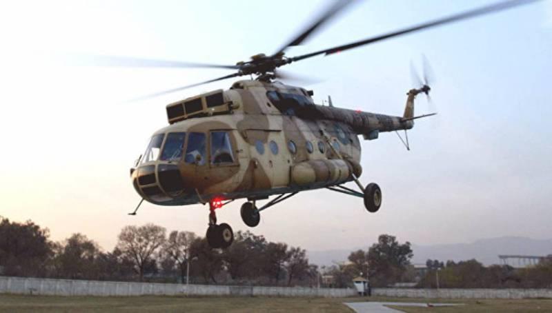 В МИД РФ подтвердили информацию о нахождении в плену у талибов российского штурмана Ми-17