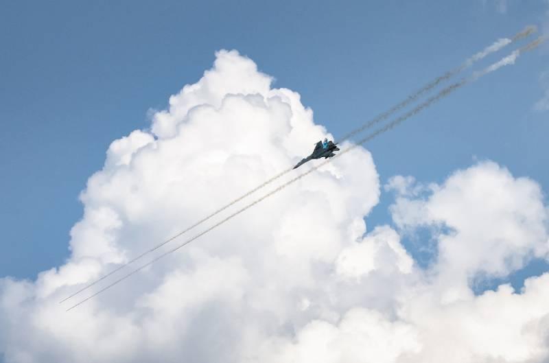 Под Рязанью состоялся показ возможностей военной авиатехники