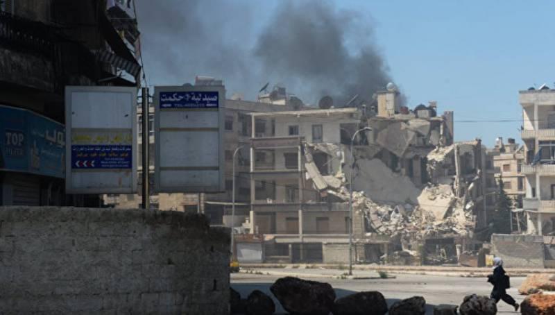 Правительственные силы Сирии отразили попытку террористов прорвать окружение в Алеппо