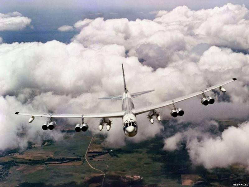 Американские В-52 приблизились к российским базам в Арктике