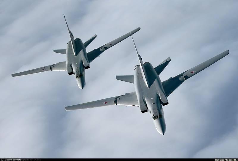 Шесть российских Ту-22М3 нанесли удар по объектам террористов в Сирии