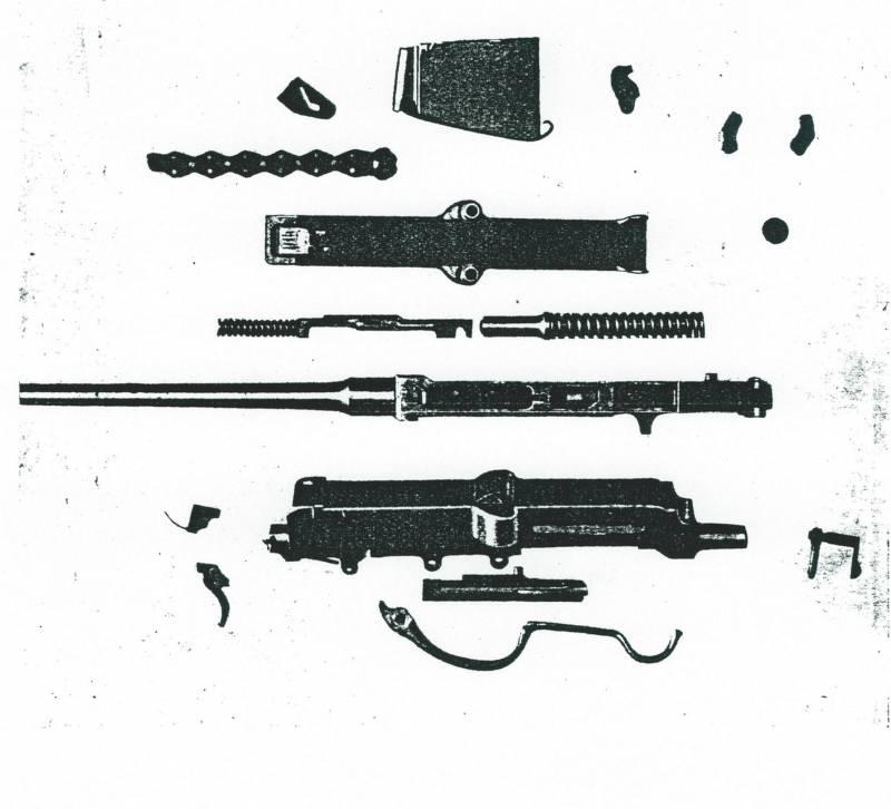 Самозарядная винтовка Fusil Hallé (Франция)