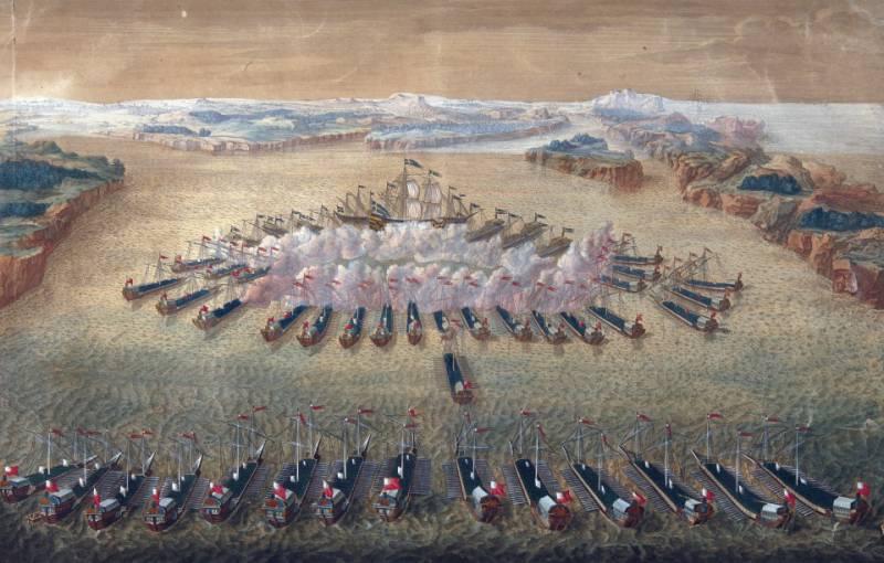 День воинской славы России. Уничтожение шведской эскадры в Гангутском сражении