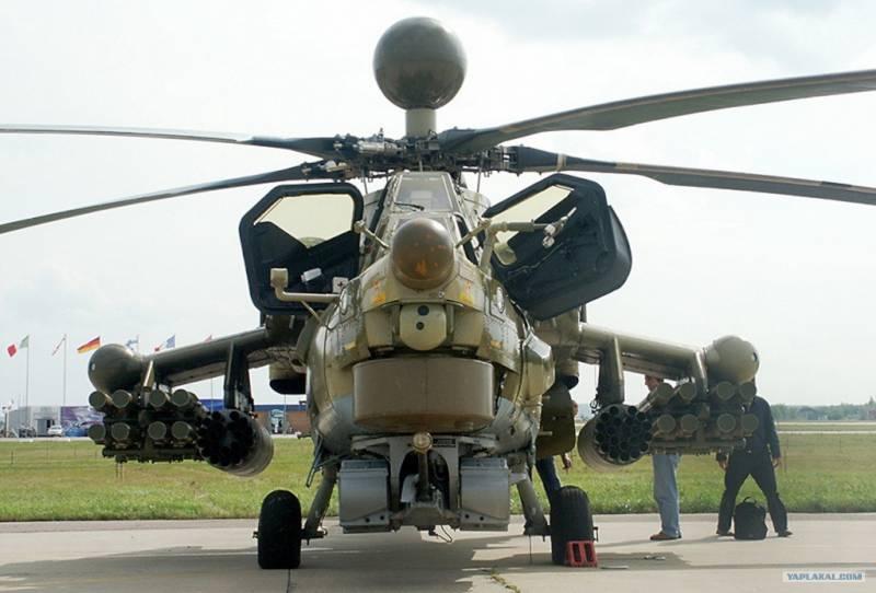 Российским военным вертолётам поменяют лопасти