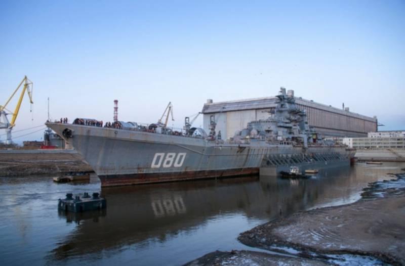 ОПК разрабатывает новую информационно-управляющую систему для «Адмирала Нахимова»