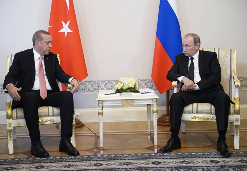 Путин и Эрдоган. Первая встреча, первые впечатления