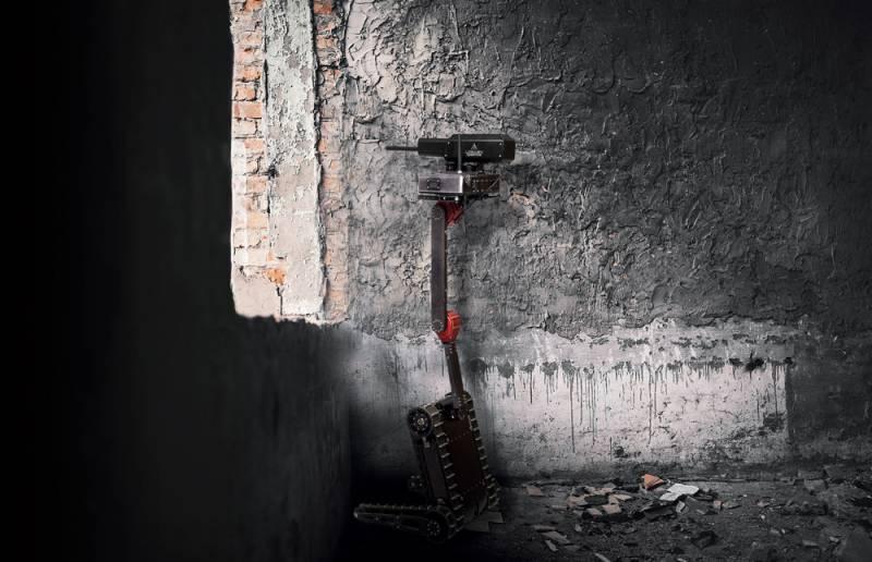 RS1A3 Minirex: тактический робот для городского боя