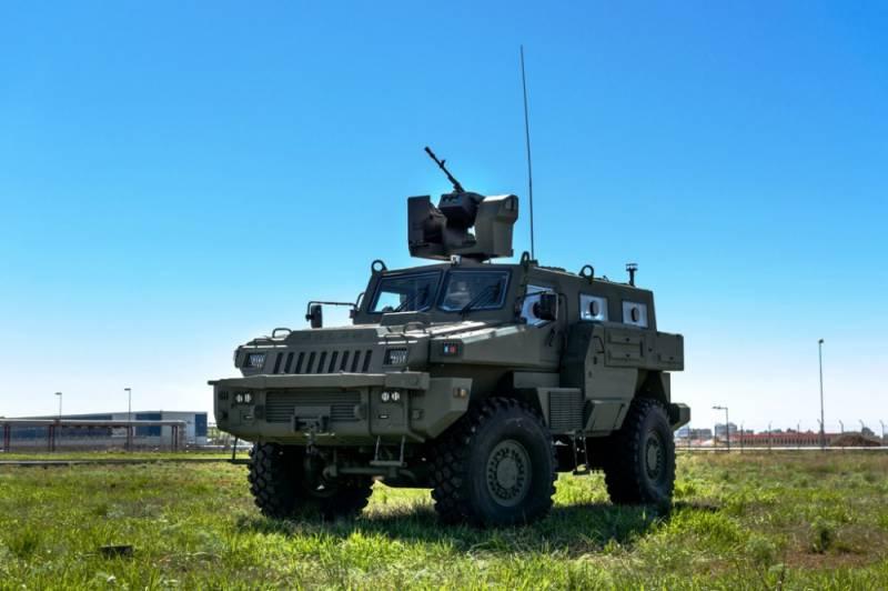 Первые бронеавтомобили «Арлан» поступили на вооружении казахстанской армии