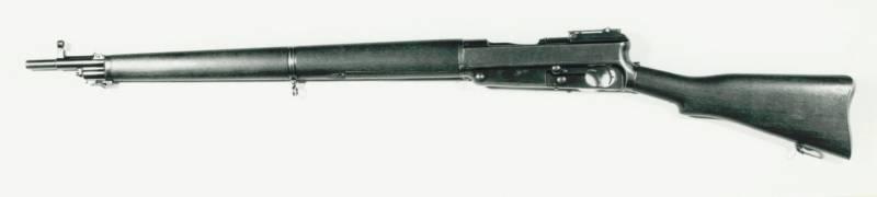 Самозарядная винтовка Fusil Hagen (Франция)