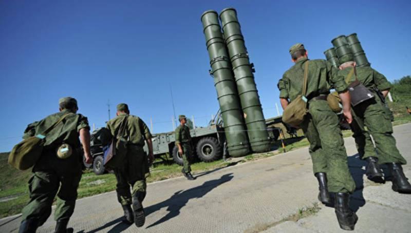 Зенитчики, дислоцированные в Крыму, получили ЗРК С-400