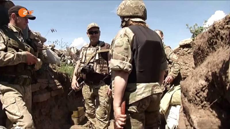 В Донбассе активизировались украинские диверсионные группы