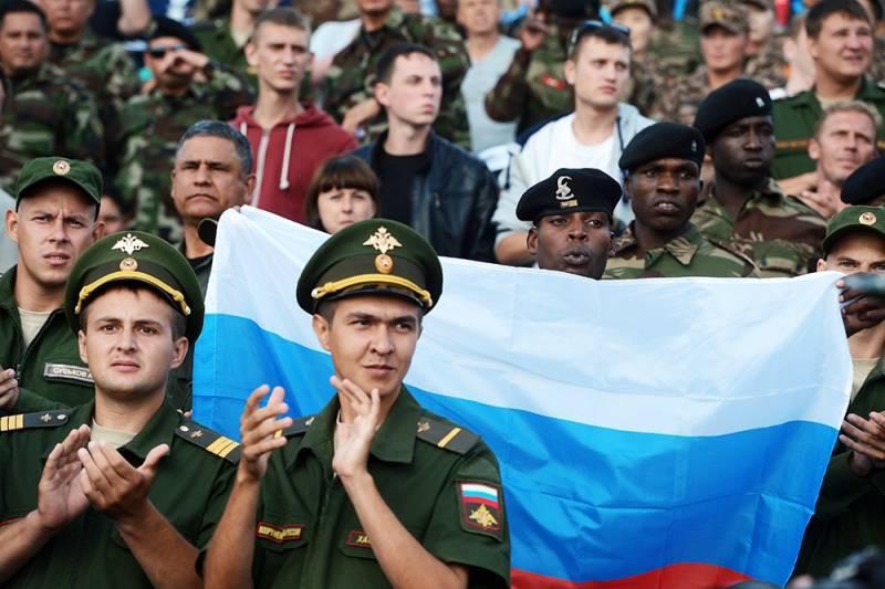 Международные армейские игры завершились победой России