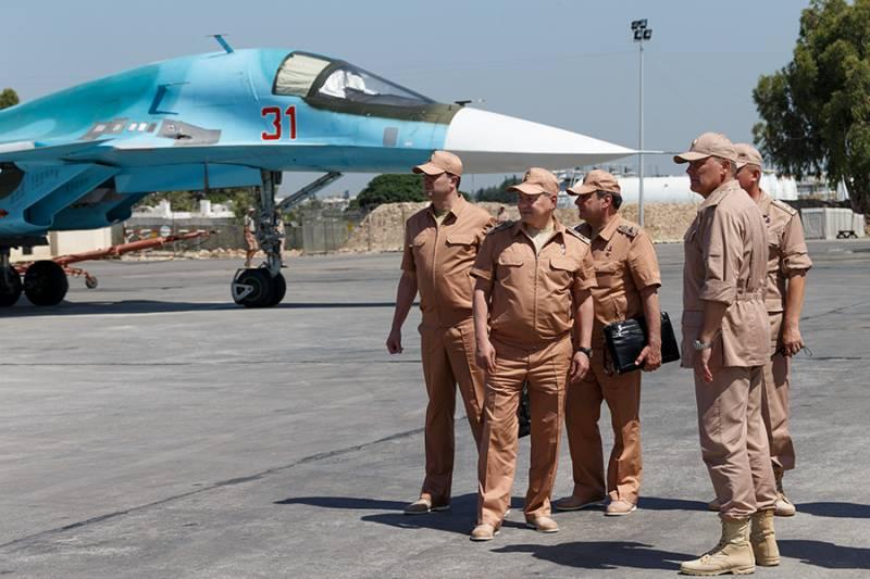 Шойгу: российская база в Сирии позволяет бороться с бандитами «на дальних подступах»