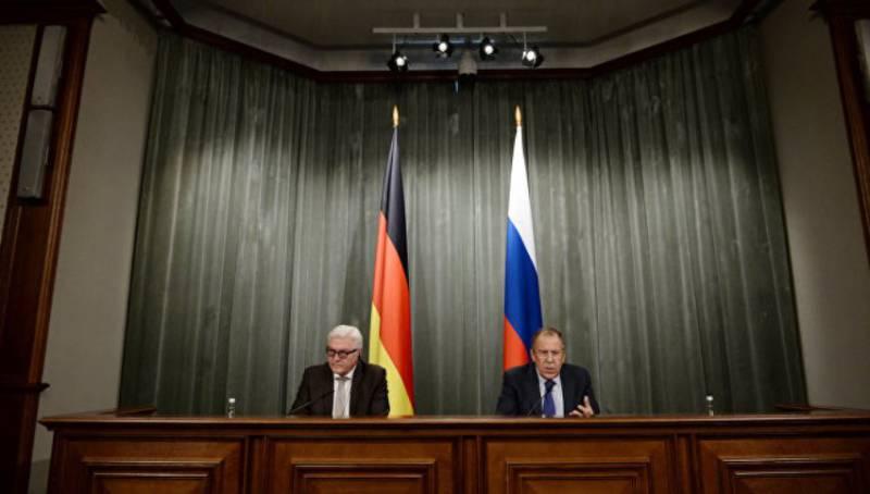 Немецкие СМИ возмутились результатами встречи Лаврова и Штайнмайера