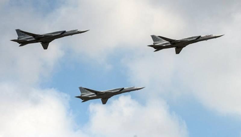 Российские Ту-22М3 поднялись с иранской базы Хамадан и нанесли удары по объектам ИГ в Сирии