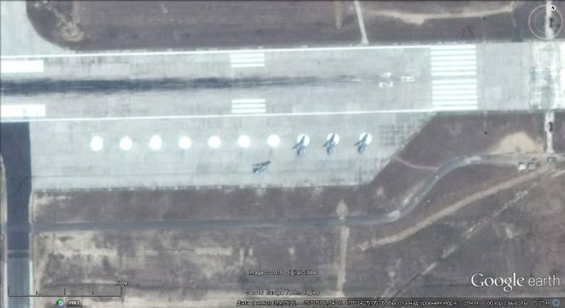 Оборонный потенциал Индии на снимках Google earth. Часть 1-я
