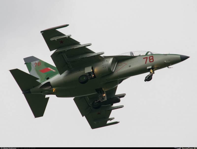 Ещё четыре Як-130 готовятся к передаче белорусским военным