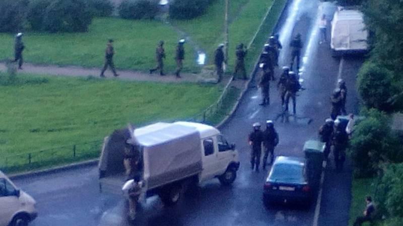 Контртеррористическая операция проводится в Кировском районе Санкт-Петербурга