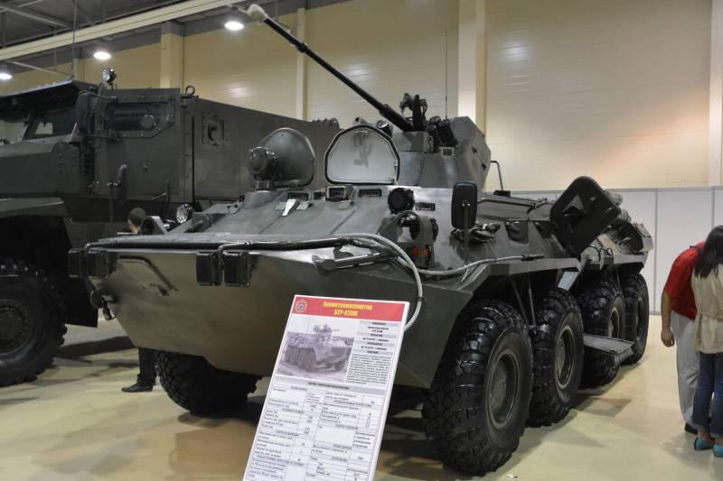 БТР-82А сможет получить боевой модуль АУ-220М «Байкал»