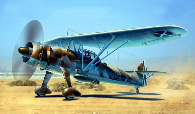 """Хеншель Hs-126 - """"надоедливый костыль"""" на службе в Люфтваффе"""