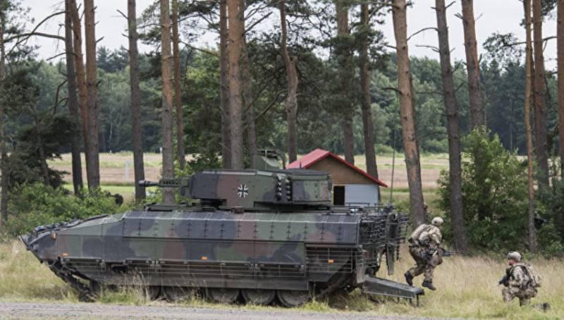 Гордость германского военпрома – БМП Puma – оказалась негерметичной: дождевая вода проникает внутрь машины сквозь задраенный люк
