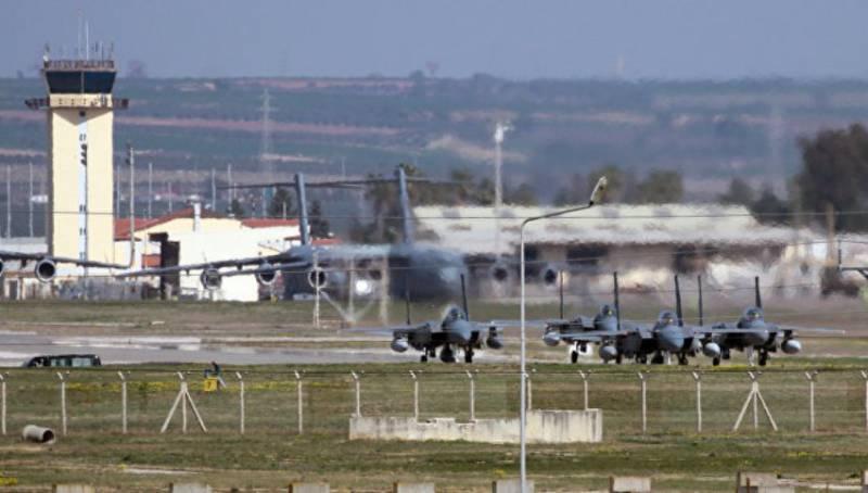 Йылдырым: Турция может предоставить российским ВКС возможность базироваться в Инджирлике, однако Москва с таким вопросом не обращалась
