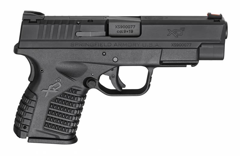 Пистолеты для плохих стрелков. Часть 4. Springfield Armory XD-S