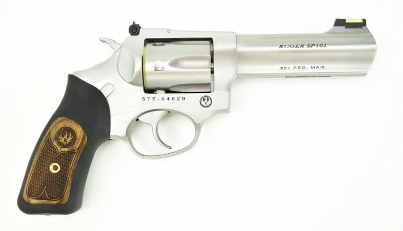 Пистолеты для плохих стрелков. Часть 5. Револьвер Ruger SP101 Federal .327 Magnum